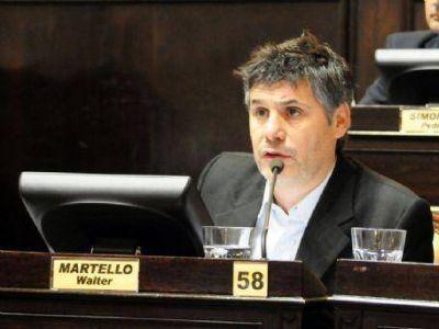 """Walter Martello: """"Estamos buscando prohibir los incentivos que promueven la adicción al juego"""""""