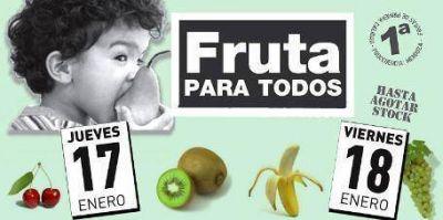 """""""Fruta para Todos"""" llega mañana a La Plata, Berisso y Ensenada"""