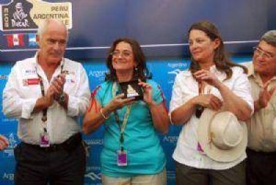 Corpacci y Meyer, presentes en el Dakar