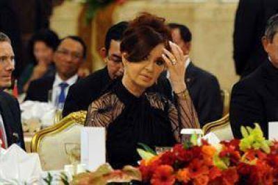 """Cristina dijo que la Argentina """"lucha para ampliar la clase media"""""""
