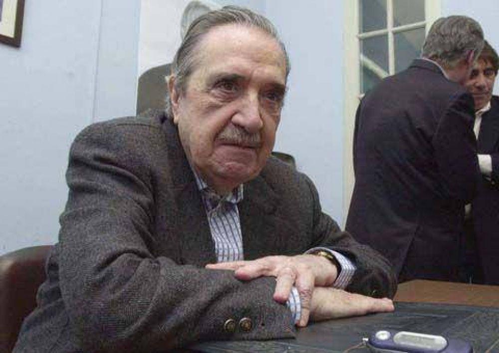 Expresiones coincidentes para despedir a Alfonsín.