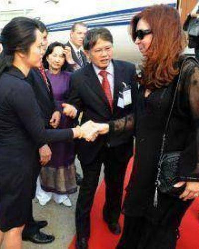CFK llegó Vietnam