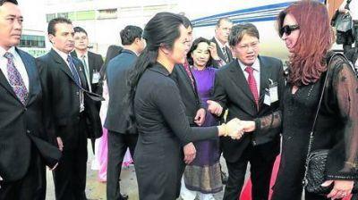 Cristina en Vietnam, última escala de una gira para ampliar el comercio
