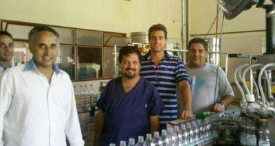 Industria gestiona la reactivación de la planta de agua mineral