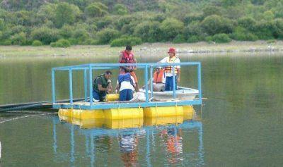 Ponen en funcionamiento sistema de bombeo superficial en Dique La Aguadita