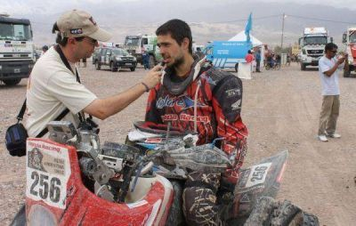 Dakar 2013: Lucas Bonetto terminó entre los cinco mejore