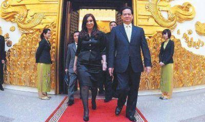 Cristina cerró su gira con nuevas opciones para ampliar mercados