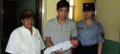 En buen estado bebé abandonado en San Ignacio, esperan que su madre aparezca