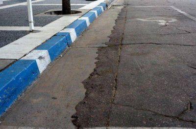 La municipalidad recordó las normas de señalización para el pintado de cordones