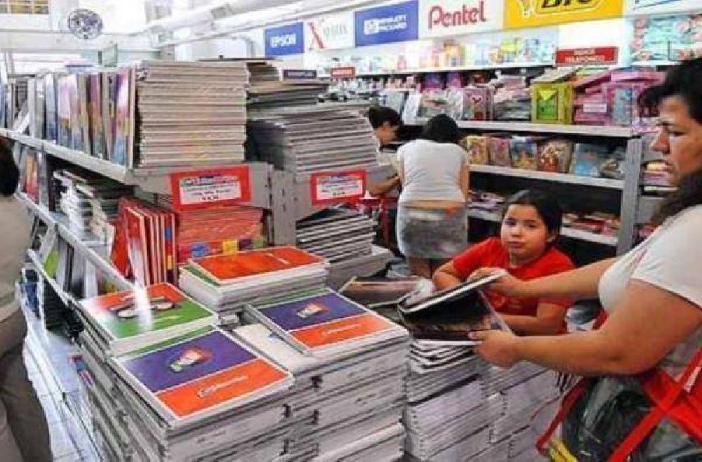 En Zárate aumentaron un 20% los útiles escolares respecto al 2012
