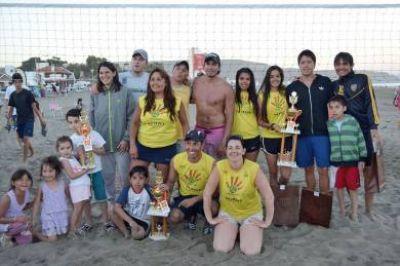 El Beach Volley consagró a sus campeones