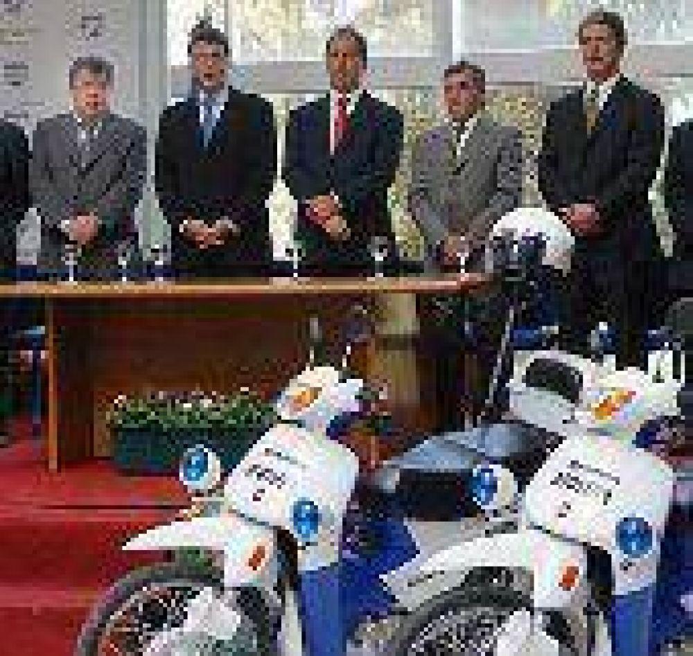 Avanza en la Provincia el programa de seguridad anunciado por el Gobierno