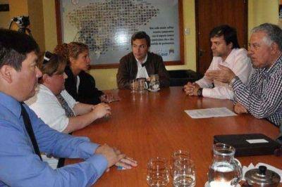 Secretario de Gobierno recibió la visita del director nacional de la Licencia Única de Conducir