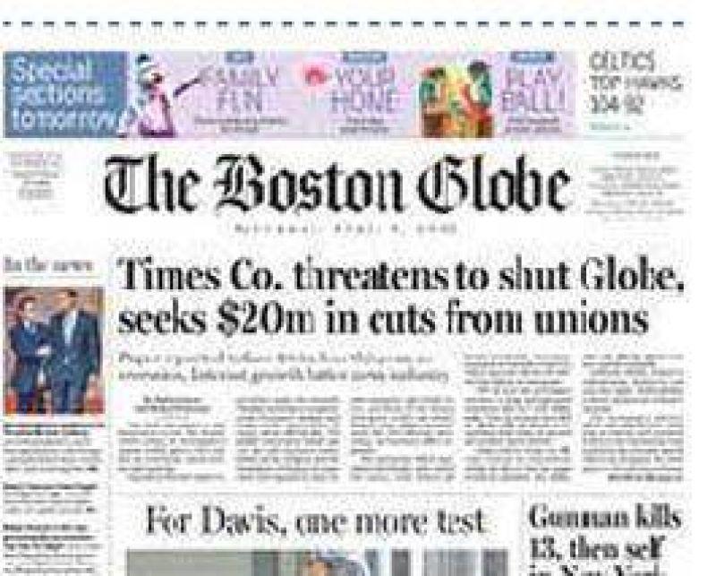 ¿La crisis deja a EE.UU. sin un diario histórico?.