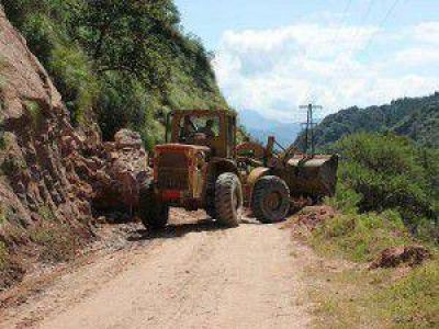Intensos trabajos para sanear la grave situación provocada por las intensas lluvias
