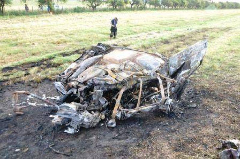Tr�gico accidente en ruta 7: Tres muertos