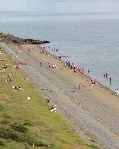 El gobierno provincial disconforme por tareas en Playa Larga