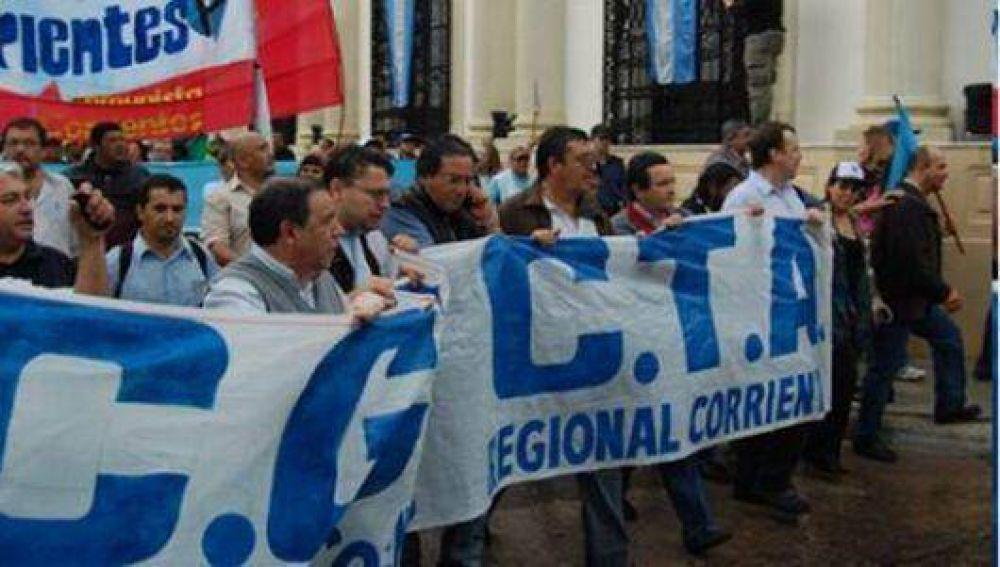 La CGT y CTA le pedirán a Colombi un 25% de aumento salarial