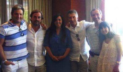 La Mesa Macri 2015 junto a Mauricio en una jornada a pura actividad en Mar del Plata