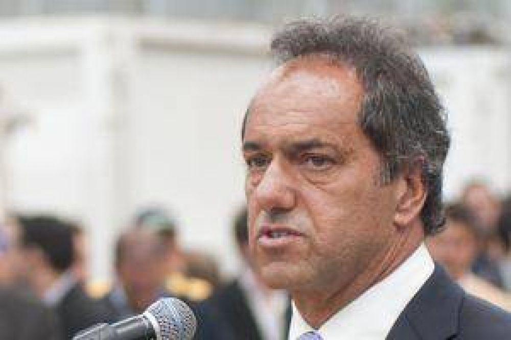 Tras críticas de Boudou, sciolismo defendió pedido de debatir coparticipación