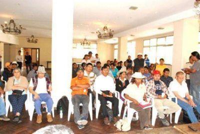 Conclusiones satisfactorias de reunion con comunidades
