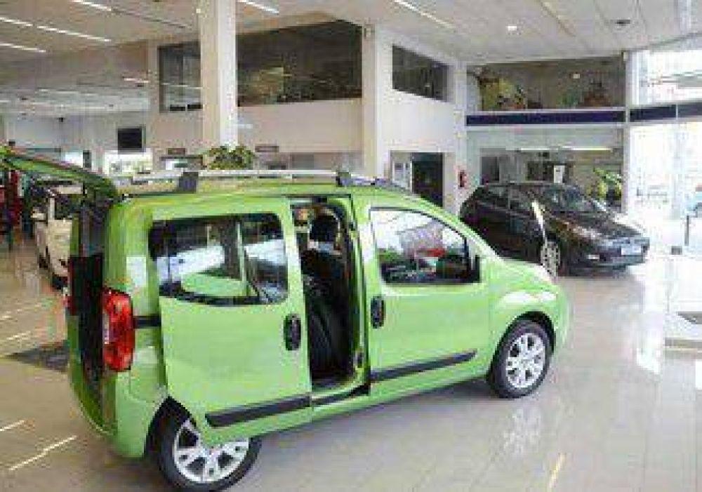 Las ventas de autos en Neuquén cayeron 1,25% el año pasado