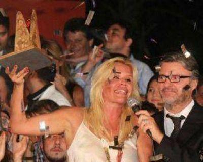 Nazarena Vélez ganó el Carlos de Oro 2013