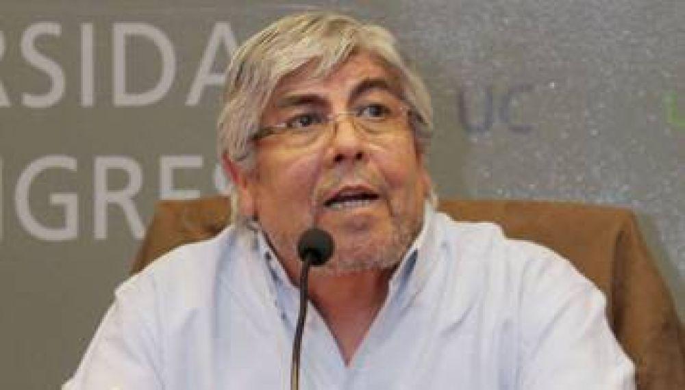 """Moyano: cambio en Ganancias """"es insuficiente"""""""