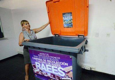El municipio reactiva la campaña de recolección de basura electrónica