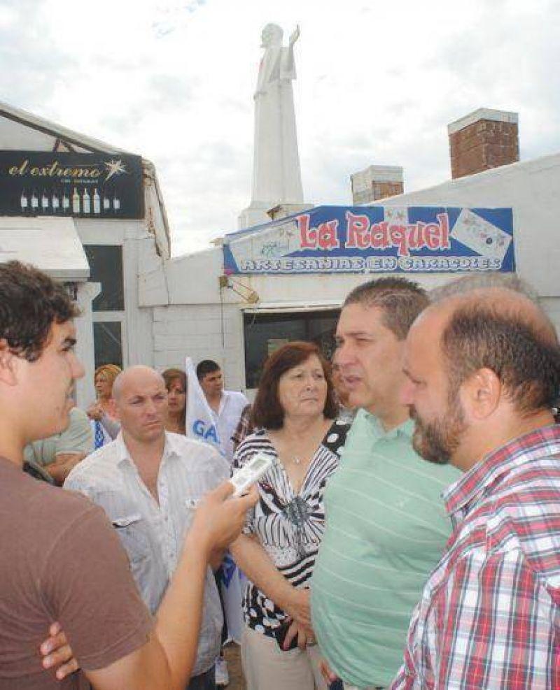 �Pepe� San Martin satisfecho por el acuerdo alcanzado entre gastron�micos y concesionarios de �El Mirador�