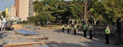 """Parque Centenario: """"Son grupos muy minoritarios"""""""