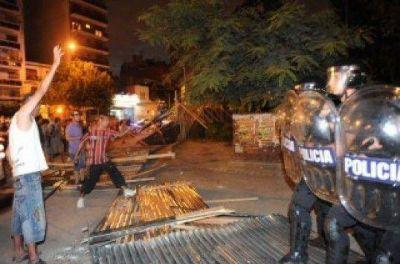 """Parque Centenario: para la Ciudad no hubo """"represión indiscriminada"""""""