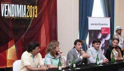 Mendoza lanz� la Fiesta de la Vendimia 2013 en Mar del Plata