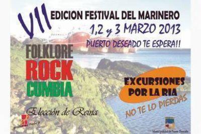 Confirman la realización del Festival Provincial del Marinero Santacruceño