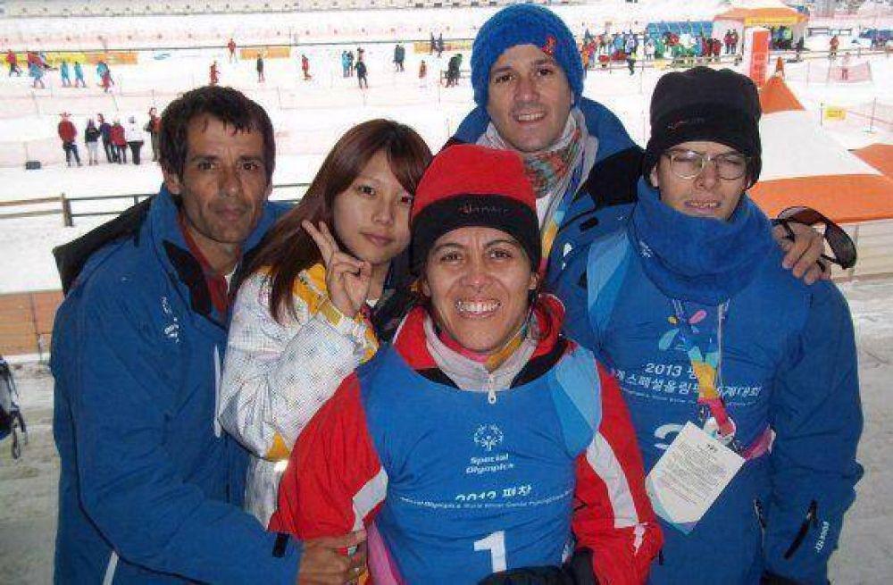 Atletas fueguinos debutaron en los Juegos Mundiales de Invierno