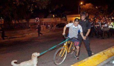 Repudian accionar de la Policía Metropolitana