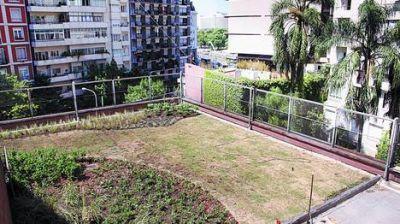 Bajarán el ABL a edificios que construyan terrazas verdes
