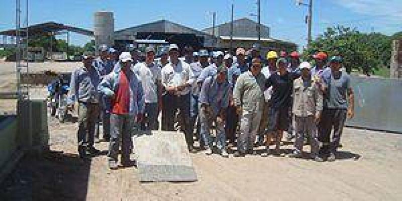 Telegrama de despidos a operarios en la empresa CIMA Estructuras