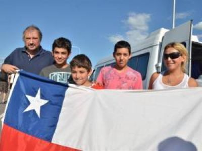 Este verano creció fuerte la afluencia de turistas chilenos