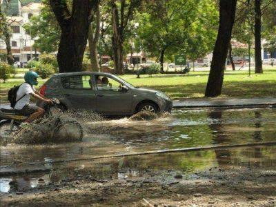Es necesario un desag�üe en el parque