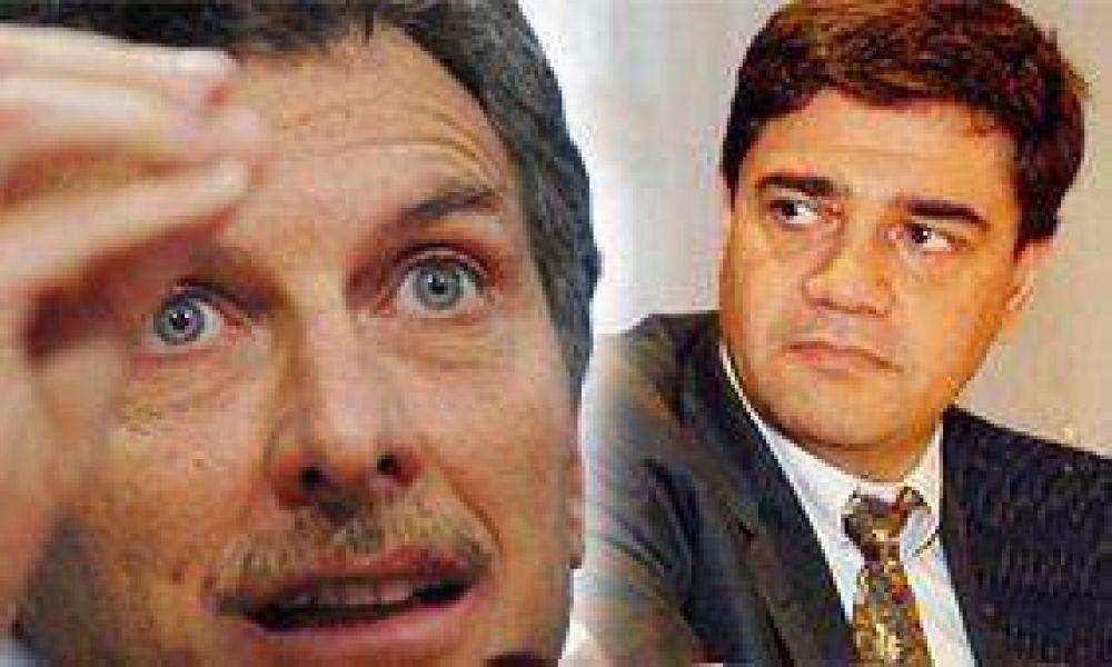 Macri negó un desacuerdo con De Narváez-Solá y confirmó a su primo como candidato del PJ disidente