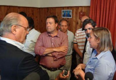 """Tomada en Bariloche ratificó decisión de """"profundizar"""" la ayuda K"""
