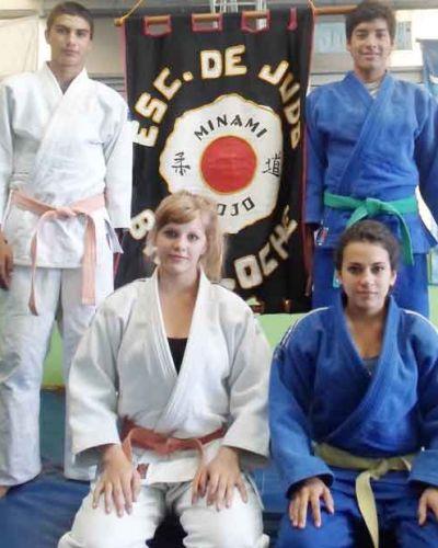 Viajan Judokas barilochenses a un campus de entrenamiento