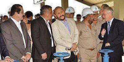 Inauguraron nueva planta de agua potable