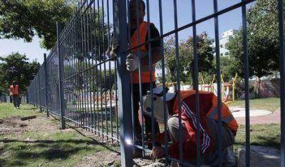 En 15 días terminan obras del Parque Centenario