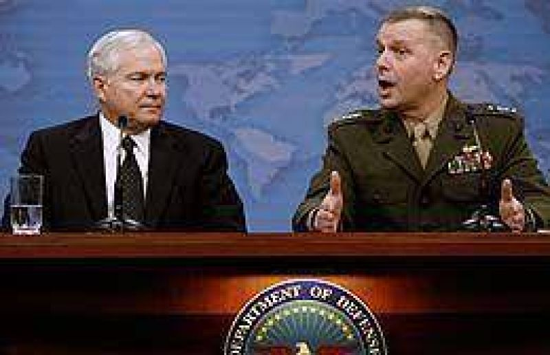 Pent�gono cambia su estrategia de gasto y se enfoca en las tropas