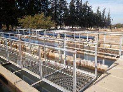 Andalgalá: acondicionan la planta potabilizadora