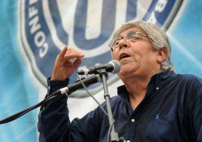 Moyano justificó el escrache a Kicillof y a Boudou