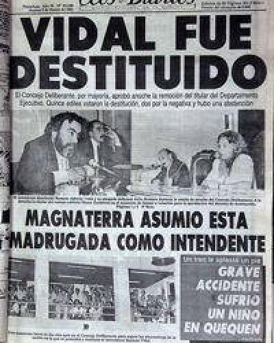 Del desplazamiento de Vidal, a la posible destitución de Tellechea