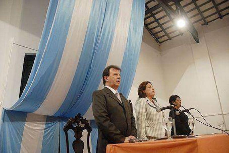 Rosso inauguró las sesiones ordinarias del Concejo
